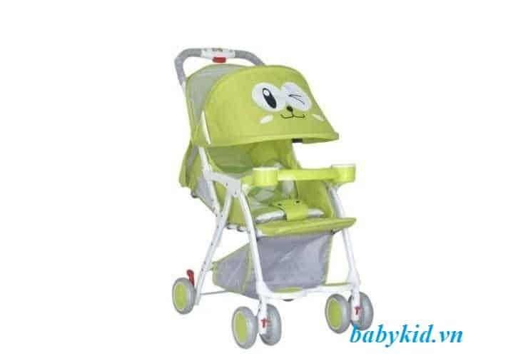 xe đẩy trẻ em 711 màu xanh
