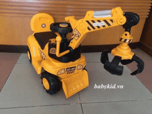 xe cần cẩu máy xúc điện MX-601