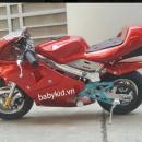 Xe moto mini ducati 1089 ( chạy bằng xăng )