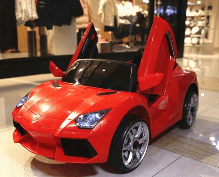 Xe ô tô điện trẻ em Lamboghini BBH-718 màu đỏ