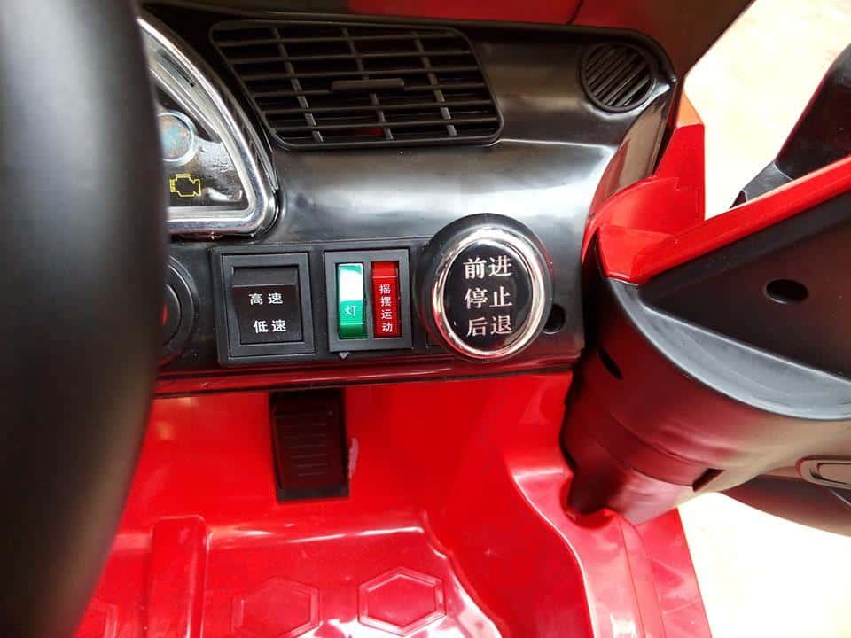 Xe ô tô điện trẻ em BDQ-168 màu đỏ (7)