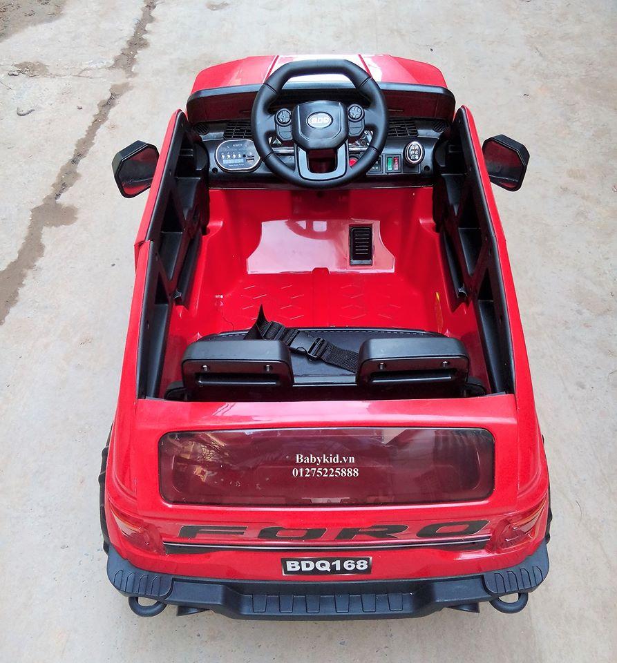 Xe ô tô điện trẻ em BDQ-168 màu đỏ (8)