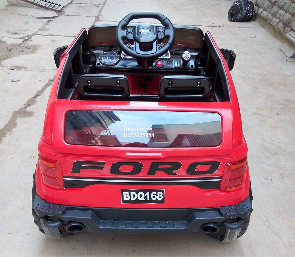 Xe ô tô điện trẻ em BDQ-168 màu đỏ