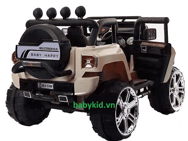 Xe ô tô điện trẻ em Jeep HLX-5188