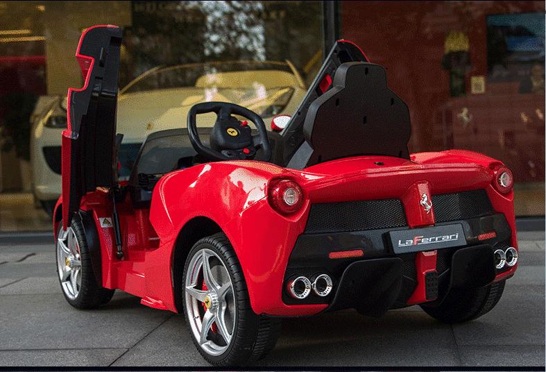 Xe ô tô điện trẻ em LaFerrari F01 màu đỏ (2)