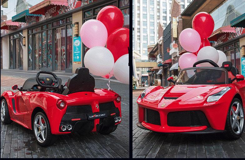 Xe ô tô điện trẻ em LaFerrari F01 màu đỏ (3)