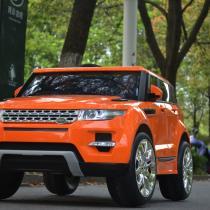 Xe ô tô điện trẻ em Rangrover màu cam