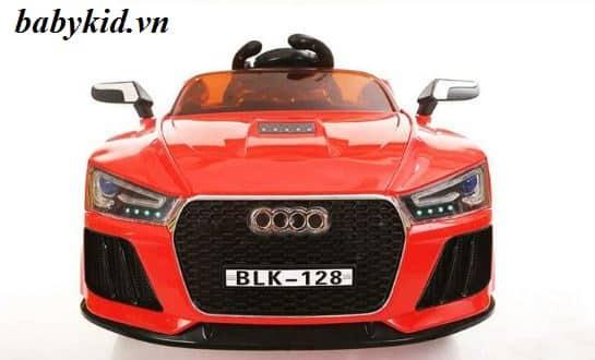 xe ô tô điện trẻ em BLK-128 màu đỏ