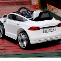 xe ô tô điện trẻ em JE-115 màu trắng