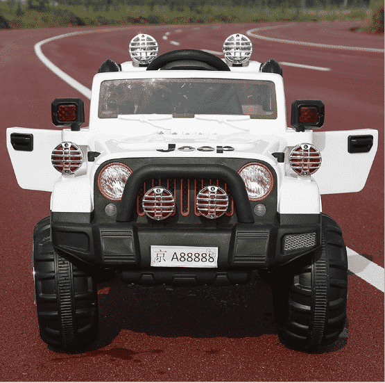 xe ô tô điện trẻ em Jeep FB-716 màu trắng2