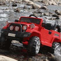 xe ô tô điện trẻ em Jeep Fb-716 màu đỏ2