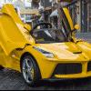 Xe ô tô điện trẻ em LaFerrari F01 màu vàng9