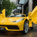 Xe ô tô điện trẻ em Ferrari FC-8858