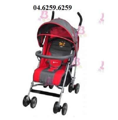 Xe đẩy trẻ em Angel 1251 màu đỏ