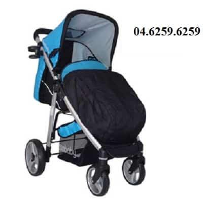 Xe đẩy trẻ em Seebaby T10A màu xanh