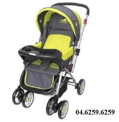 Xe đẩy trẻ em Angel 3011 màu vàng