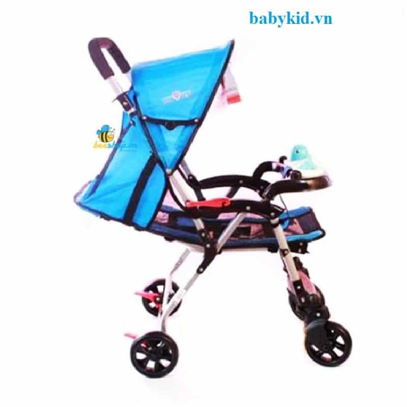 Xe đẩy trẻ em HP-7090W xanh dương