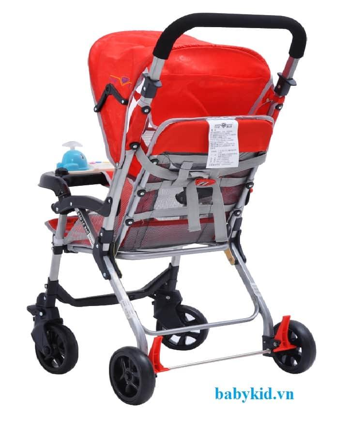 Xe đẩy trẻ em HP-7090W đỏ