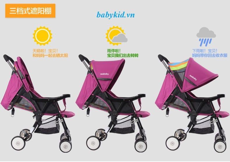 Xe đẩy trẻ em Seebaby QQ3 chất lượng cao giá rẻ