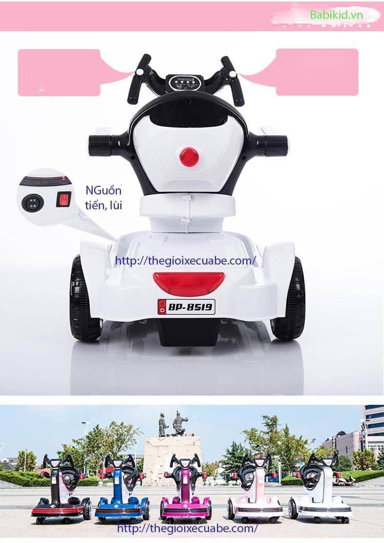 Xe máy điện trẻ em BP- 8519 trắng