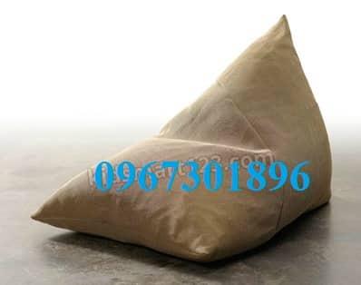 Ghế lười hạt xốp hình tam giác size M