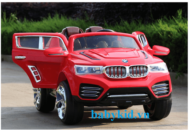 Xe ô tô điện trẻ em DK-F000 màu đỏ
