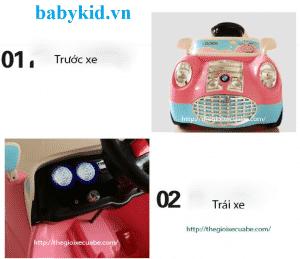 Xe ô tô điện trẻ em XD-626