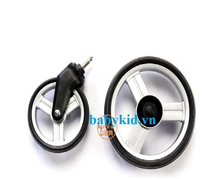 Xe đẩy trẻ em Seebaby T10A bánh xe chắc chắn