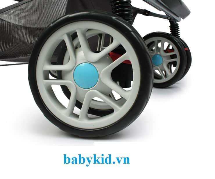 Xe đẩy trẻ em angel 2046 bánh xe chắc chắn