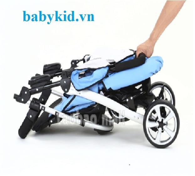 Xe đẩy trẻ em Seebaby T10A gập gọn tiện lợi