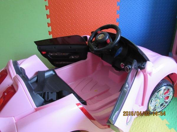 Xe ô tô điện trẻ em KYD-3988 màu hồng
