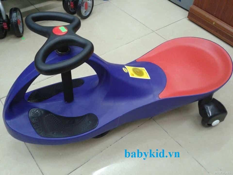 Xe lắc trẻ em HQ- 3006 xanh