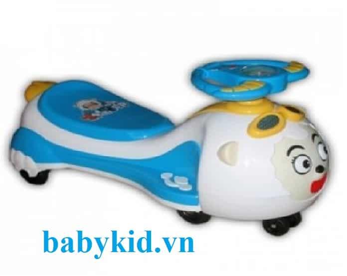 Xe lắc trẻ em XL18 xanh