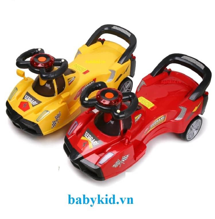 Xe lắc trẻ em kiểu ô tô 628 cao cấp giá rẻ