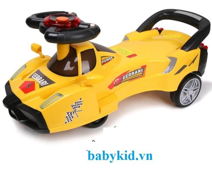 Xe lắc trẻ em kiểu ô tô 628 giá rẻ