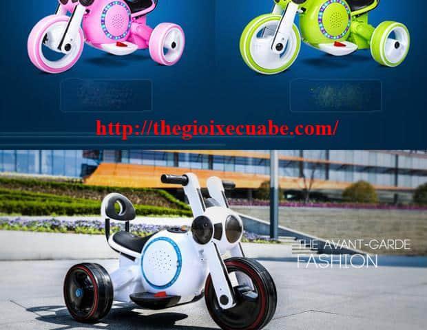 Xe máy điện trẻ em KB-903 trắng