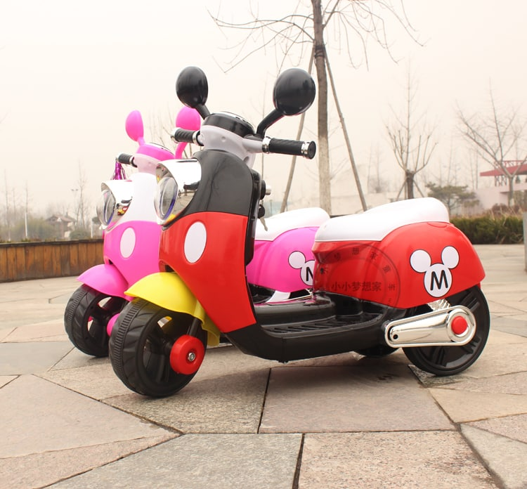 Xe máy điện trẻ em 6688 màu đỏ