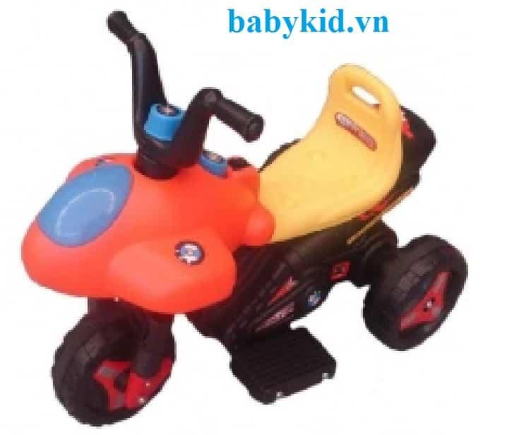 Xe máy điện trẻ em 8818 D3 màu cam