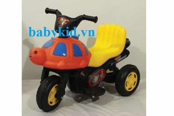 Xe máy điện trẻ em 3053 vàng cam