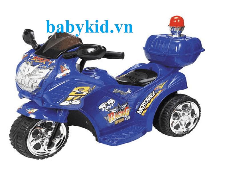 Xe máy điện trẻ em MDX- 99071 màu xanh