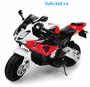 Xe máy điện trẻ em JT-528 trắng đỏ