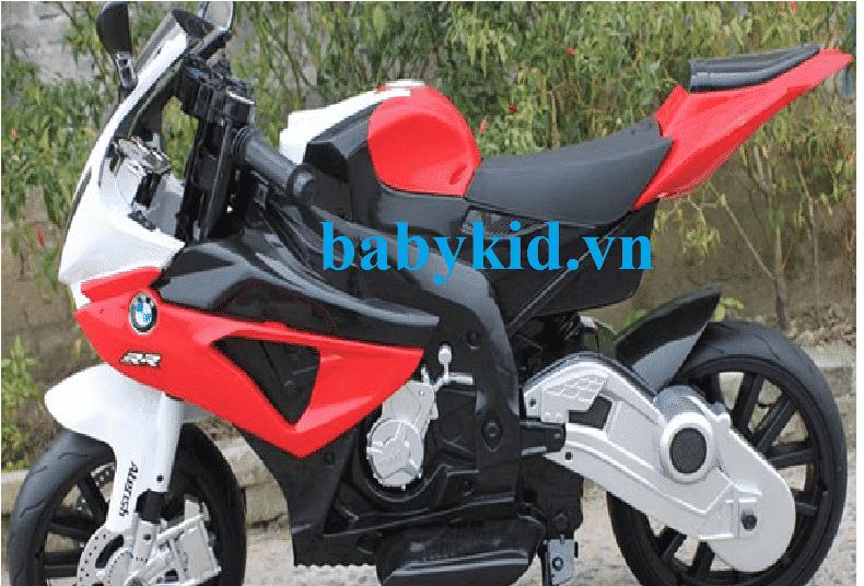 Xe máy điện trẻ em JT-528 màu đỏ