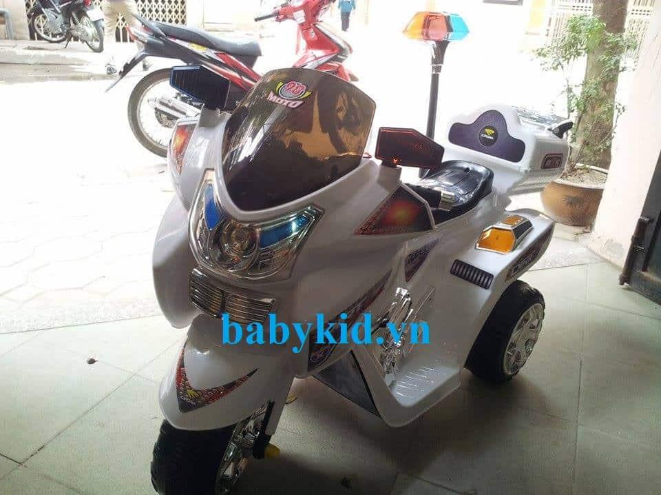 Xe máy điện trẻ em Police 3198