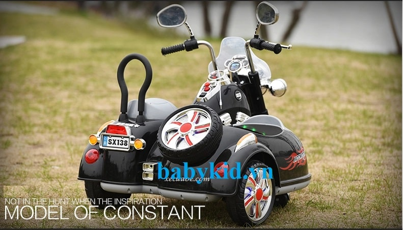 Xe máy điện trẻ em Police SX138