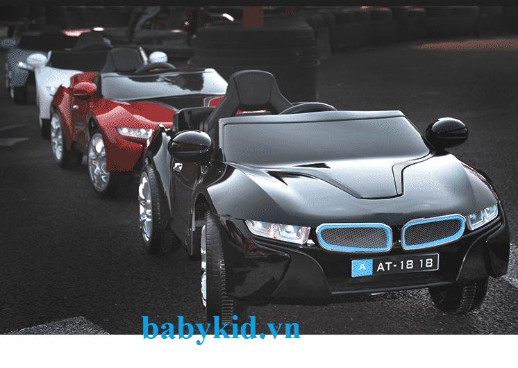 Xe ô tô điện trẻ em AT-1818 màu đen