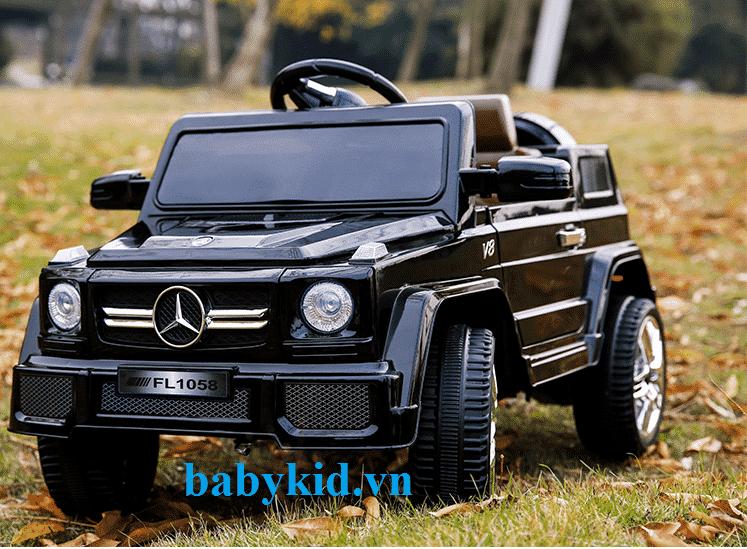 Xe ô tô điện trẻ em LS-528 màu đen