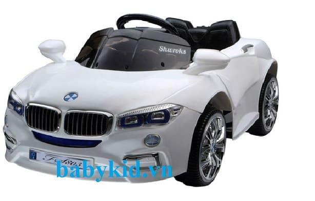 Xe ô tô điện trẻ em PB-803 trắng