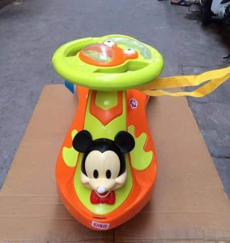 Xe lắc trẻ em BJ-288 màu cam