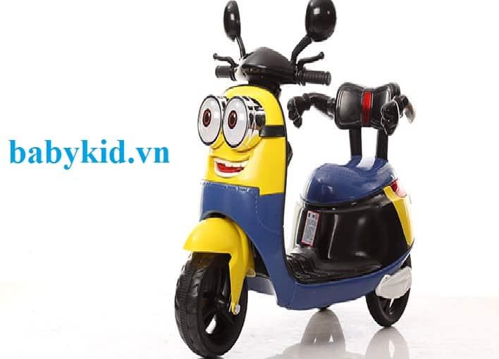 Xe máy điện trẻ em Minion HLM-9988 ngộ nghĩnh