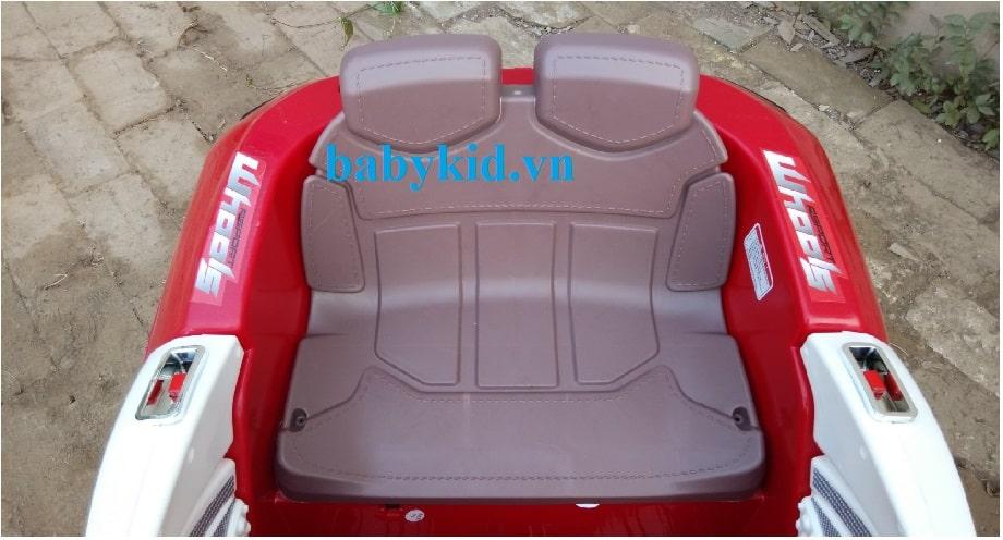 xe ô tô điện trẻ em BLK-818 ghế ngồi rộng